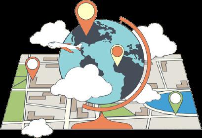globe map image